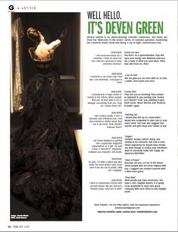 Deven Green Goliath Black Dress April 20