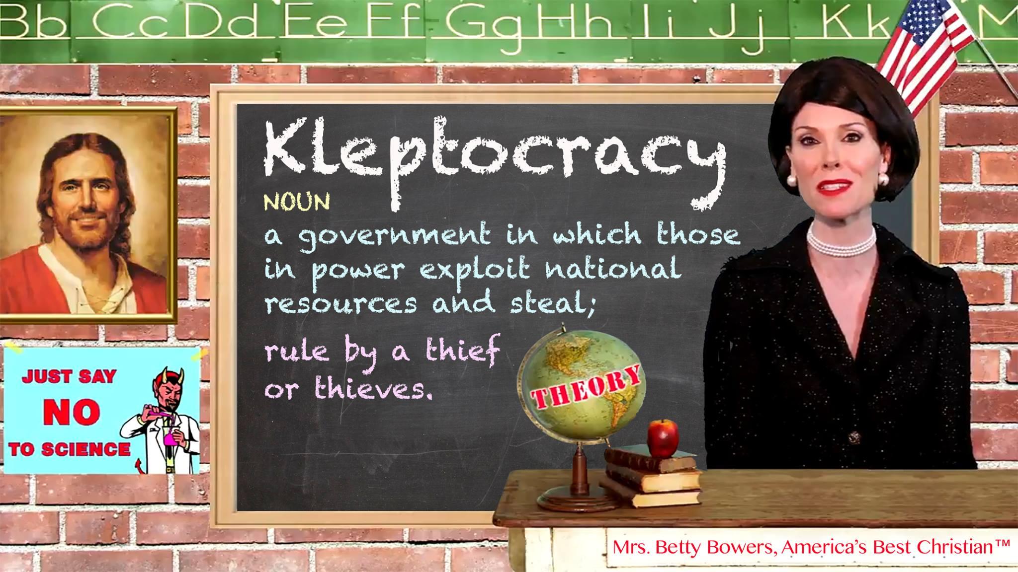 Kleptocracy bb
