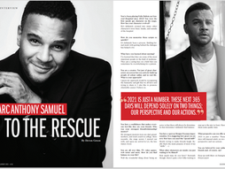 Interview with Marc Anthony Samuel