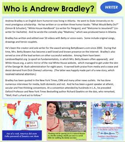 Betty Bowers Andrew Bradley