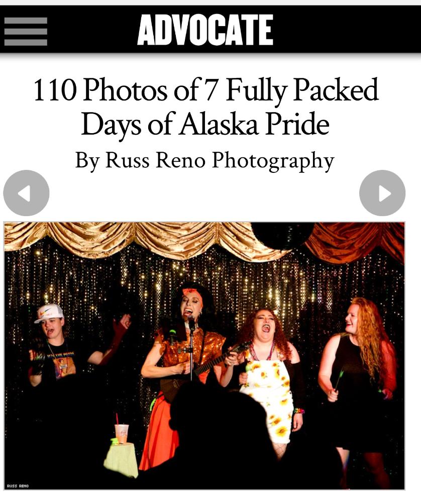 Advocate Pride Alaska Deven Green