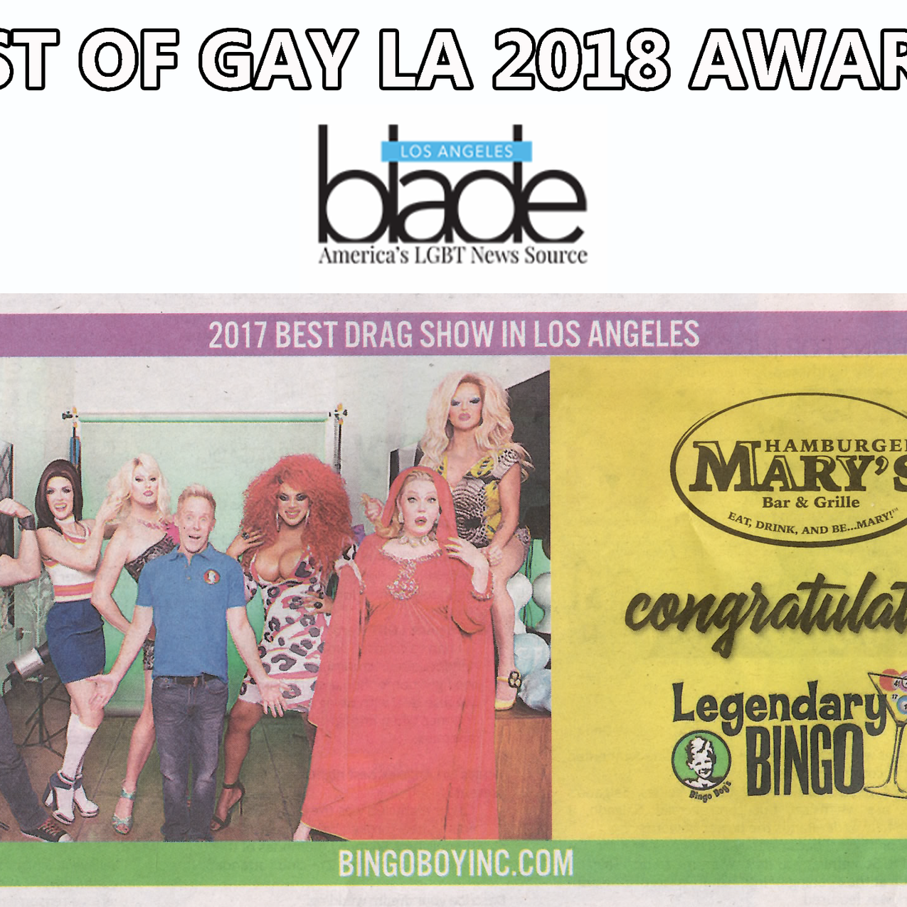 Blade awards best drag show 2018