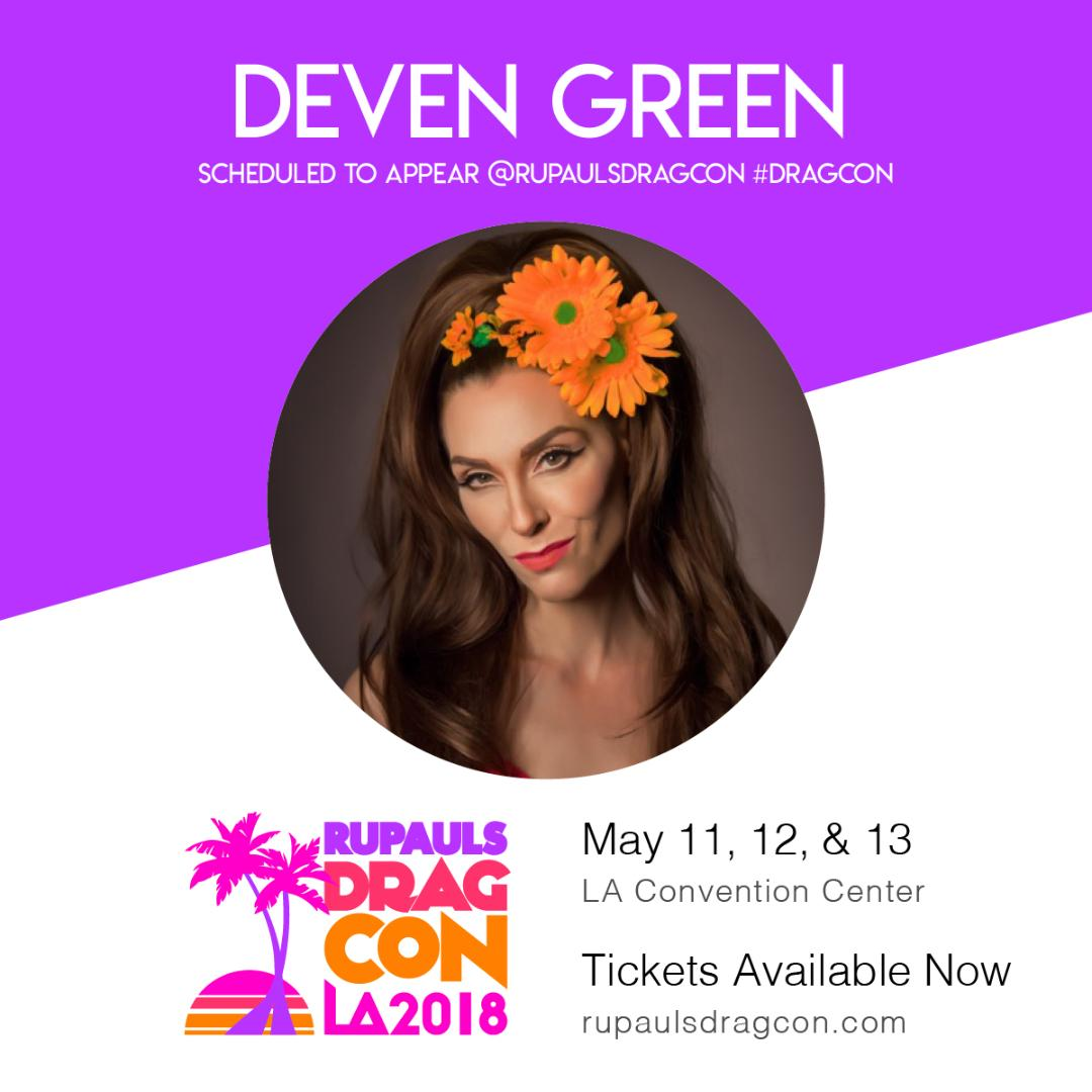 Deven Green RuPauls Dragcon 2018