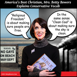 religious freedom no gays betty bowers