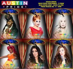 Deven Green Austin Pride