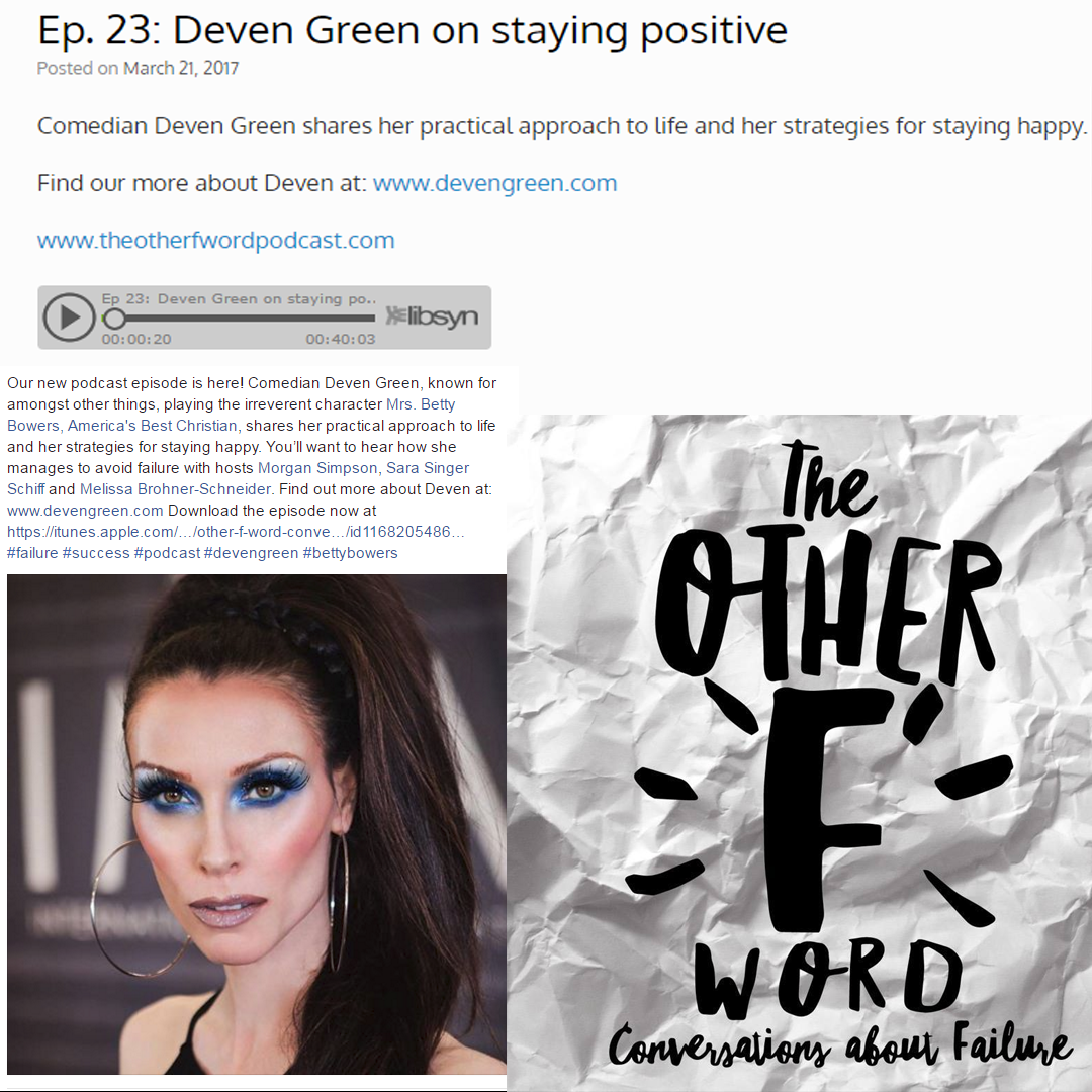 The Other F Word with Deven Green