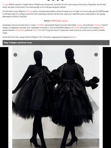 ridge deven paper magazine dragcon 2019