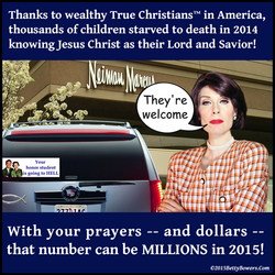 Wealthy starving Betty Bowers