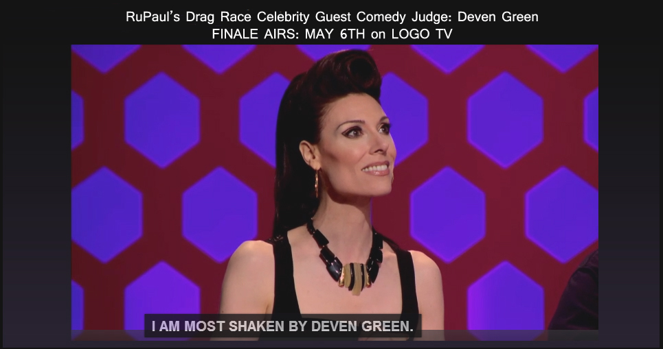 Deven Green RuPaul's Drag Race Judge