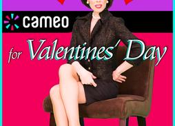 Valentine's Day Cameo