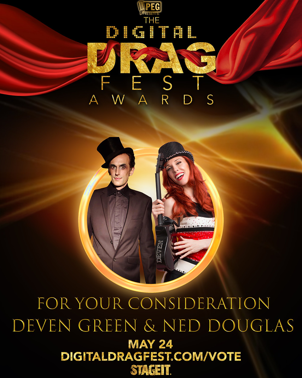 Deven Ned Digital Dragfest awards