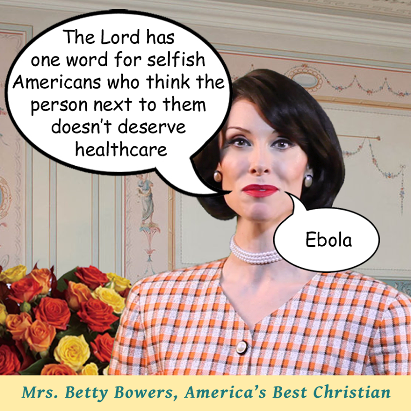 ebola Betty Bowers
