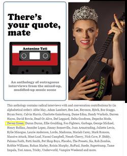 Deven Green in Cream Magazine BOOK