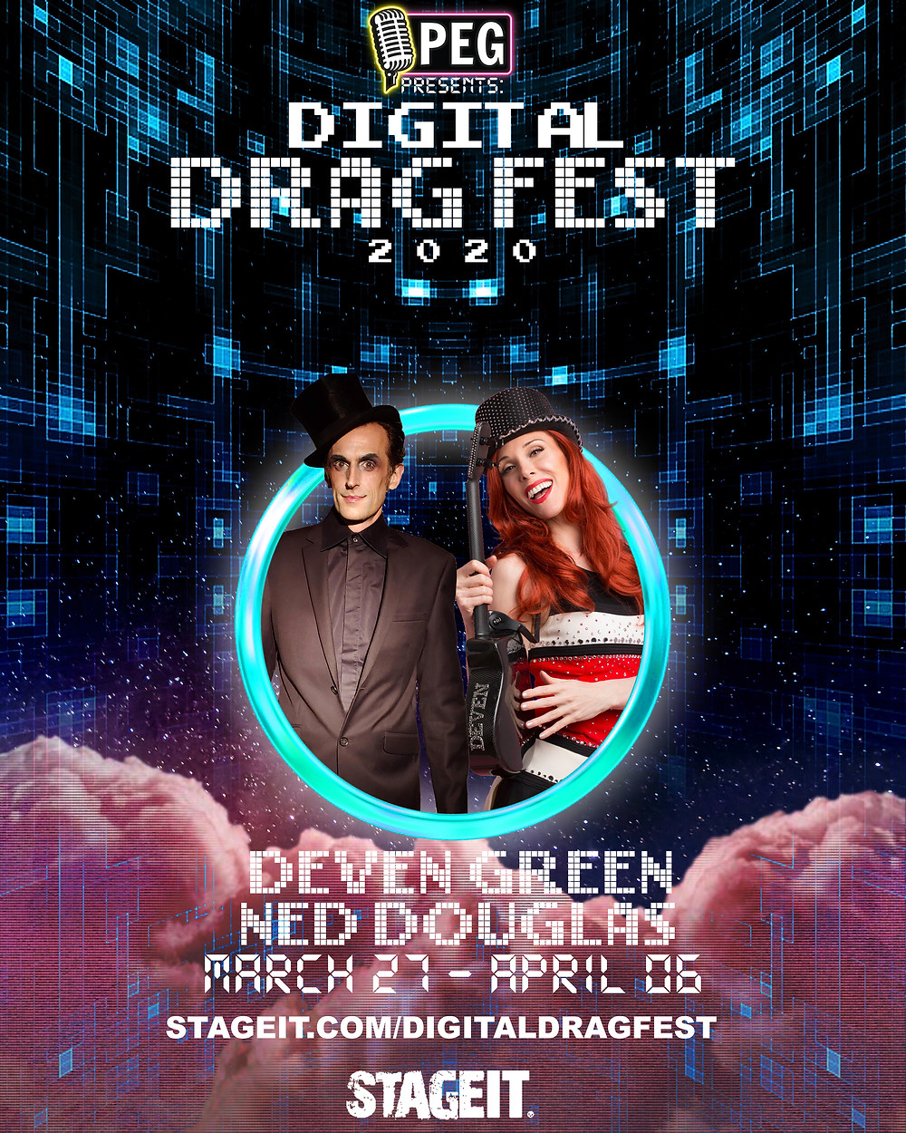 DEVEN GREEN PEG ENTERTAINMENT digital drag fest