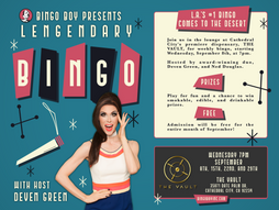 Live Bingo at The Vault with Deven& Ned