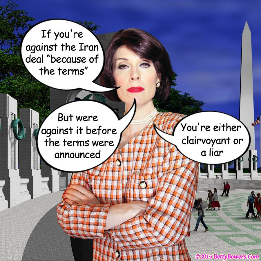 iran deal betty bowers