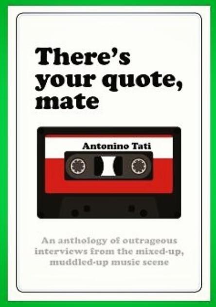 Deven Green There's Your Quote Mate Antonino Tati Cream Magazine