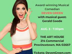 Provincetown, Mass AUG. 3 - 7:30pm