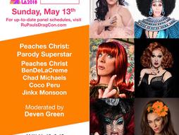 "RuPaul's Dragcon ""Peaches Christ"" Panel"