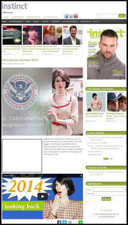 instinct magazine 2014 year end review betty bowers