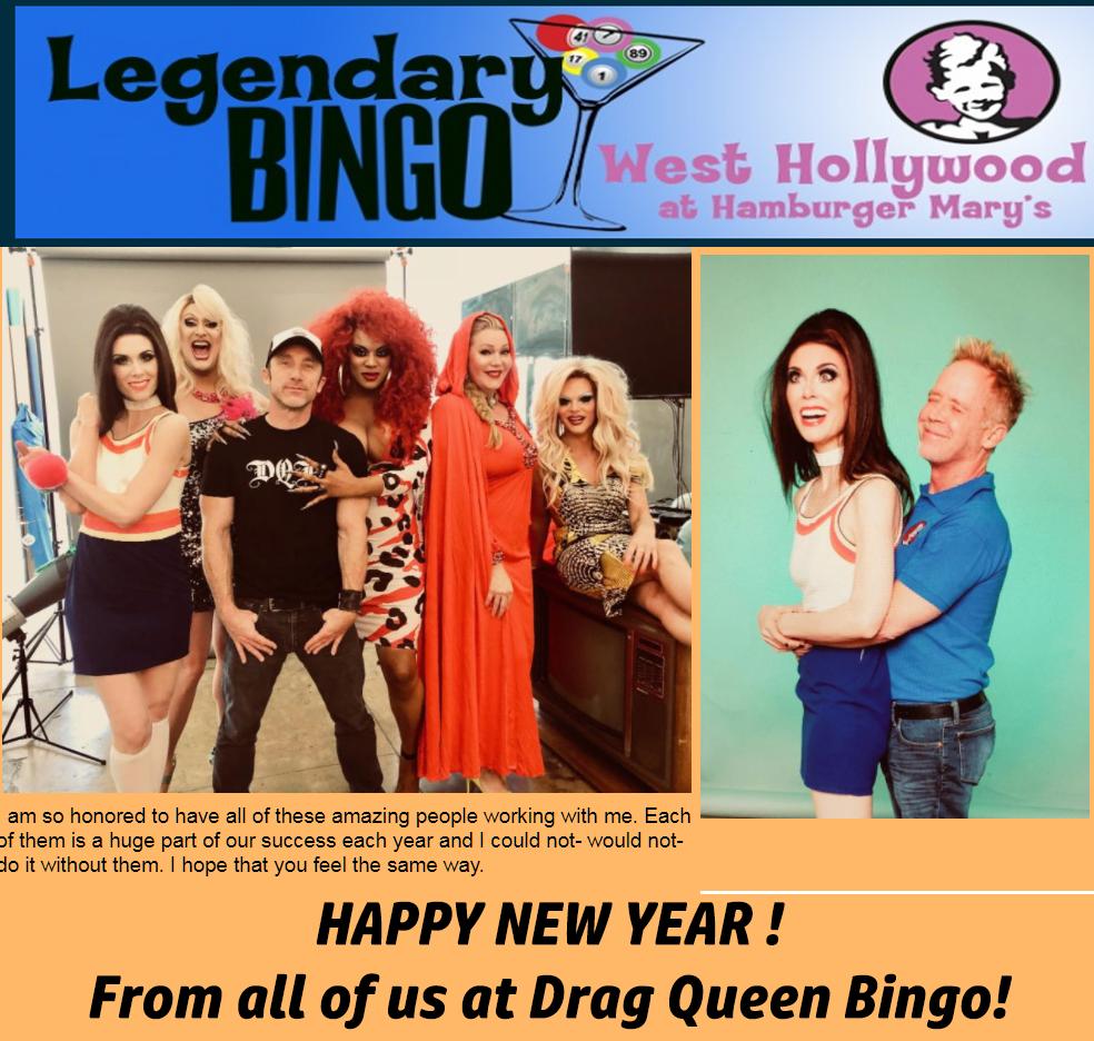 Drag Queen Bingo Legendary Bingo