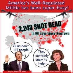 GUN VIOLENCE NRA NEWTOWN BB