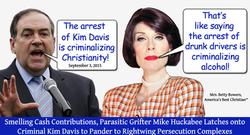 huckabee kim davis criminalizing alcohol