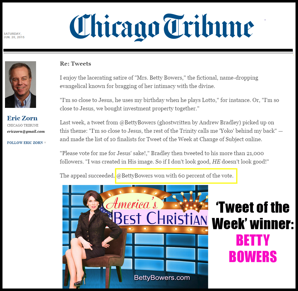 chicago tribune tweet of the week winner june 2015 bb