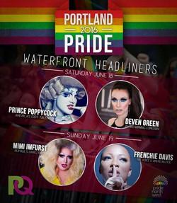 Deven Green Portland Pride