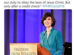 Betty Bowers at FFRF
