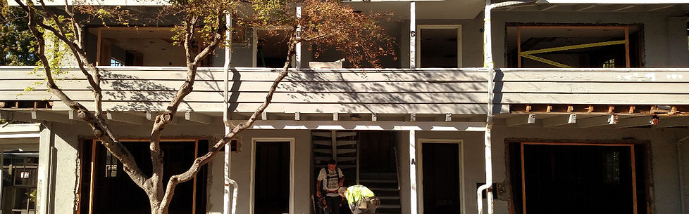 Velocity construction services inc apartment remodel alamo california bay area fremont multi-family hoa rebuild siding deck