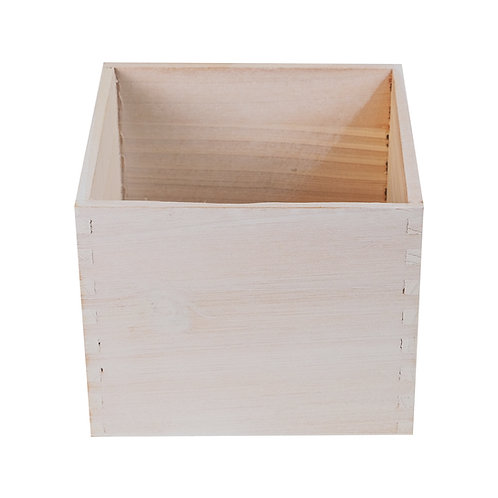 """6"""" Wooden Cube w/Liner"""