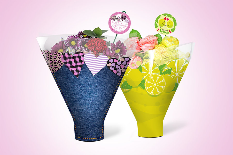 New floral packaing designs to make your flower stand up