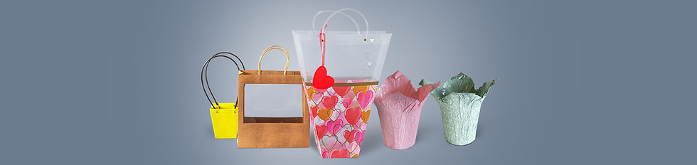 Bags & Potted for Floral packaging