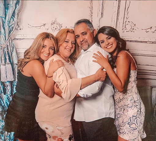 The beautiful Reyes family on their 2019