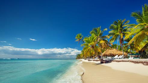 Beach in La Romana