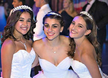 Our beautiful quinceañeras!