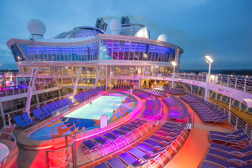 Pool on the Harmony of the Seas
