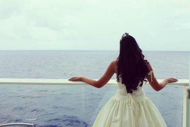 Quinceañera at sea!