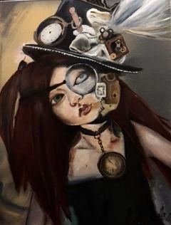 Clockwork styled girl