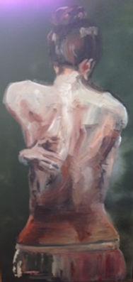 Ballerina Girl Painting