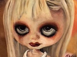 Human doll goth style