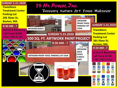 24 HR POWER RECOVERY ART FENCE PROJECT B