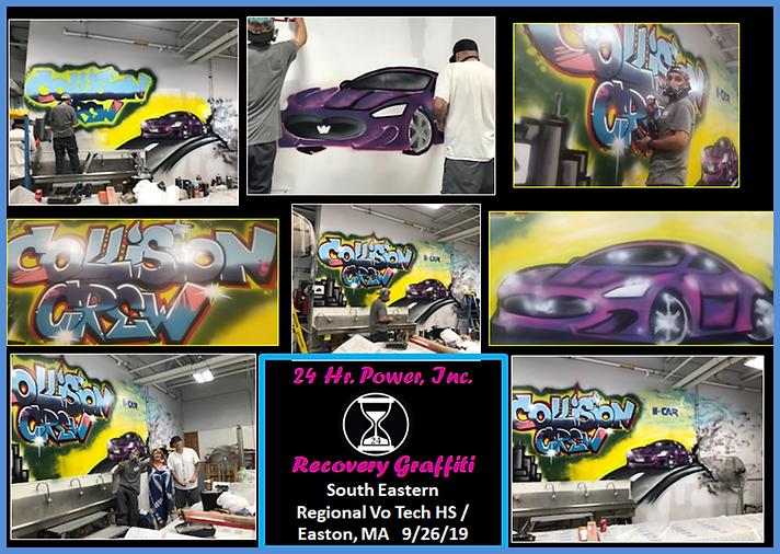 So East Vo Tech Graffiti Collage 9.26.19