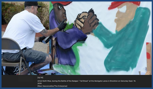 Keith Mise Together We Can Mural in Prog