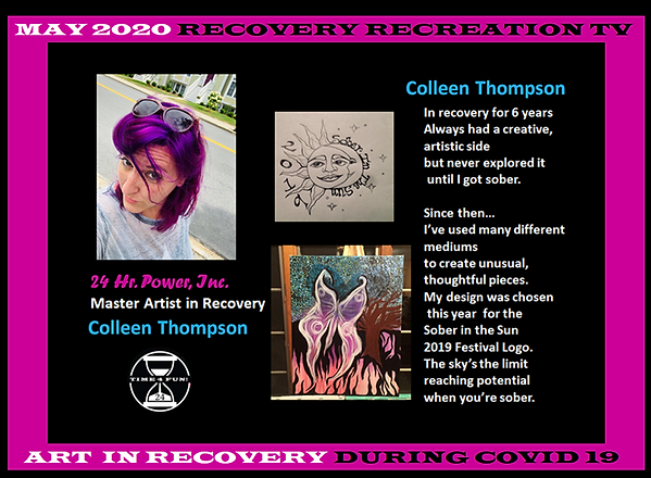Colleen Thompson Recovery Recreation TV