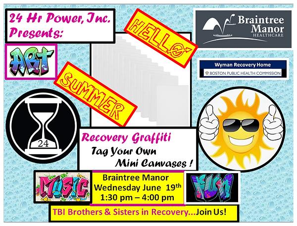 Braintree Manor June 19th Recovery Graff