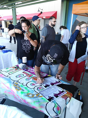 SIGN UP FUTURE RECOVERY GRAFFITI EVENTS.