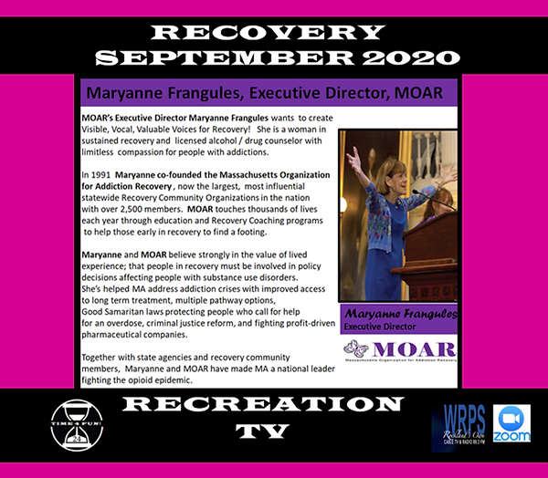 Maryanne Frangules Recovery Rec Profile