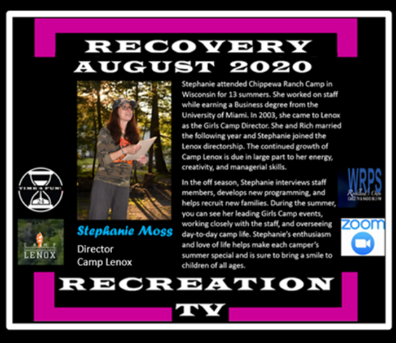 Stephanie Moss Camp Lenox Revised Profil